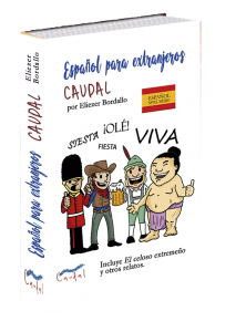 Libro de español para extranjeros. Caudal, editoriales de Misterio