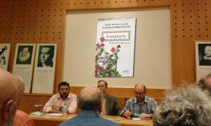 Foto de la presentación de la obra Andalucía, notas de andar y ver