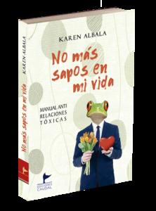 portada del libro No más sapos en mi vida, publicado en la editorial española de misterio Caudal