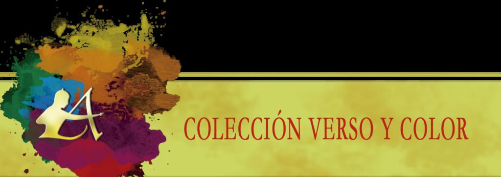 Vitola inferior de la Colección Verso y Color de Editorial Adarve
